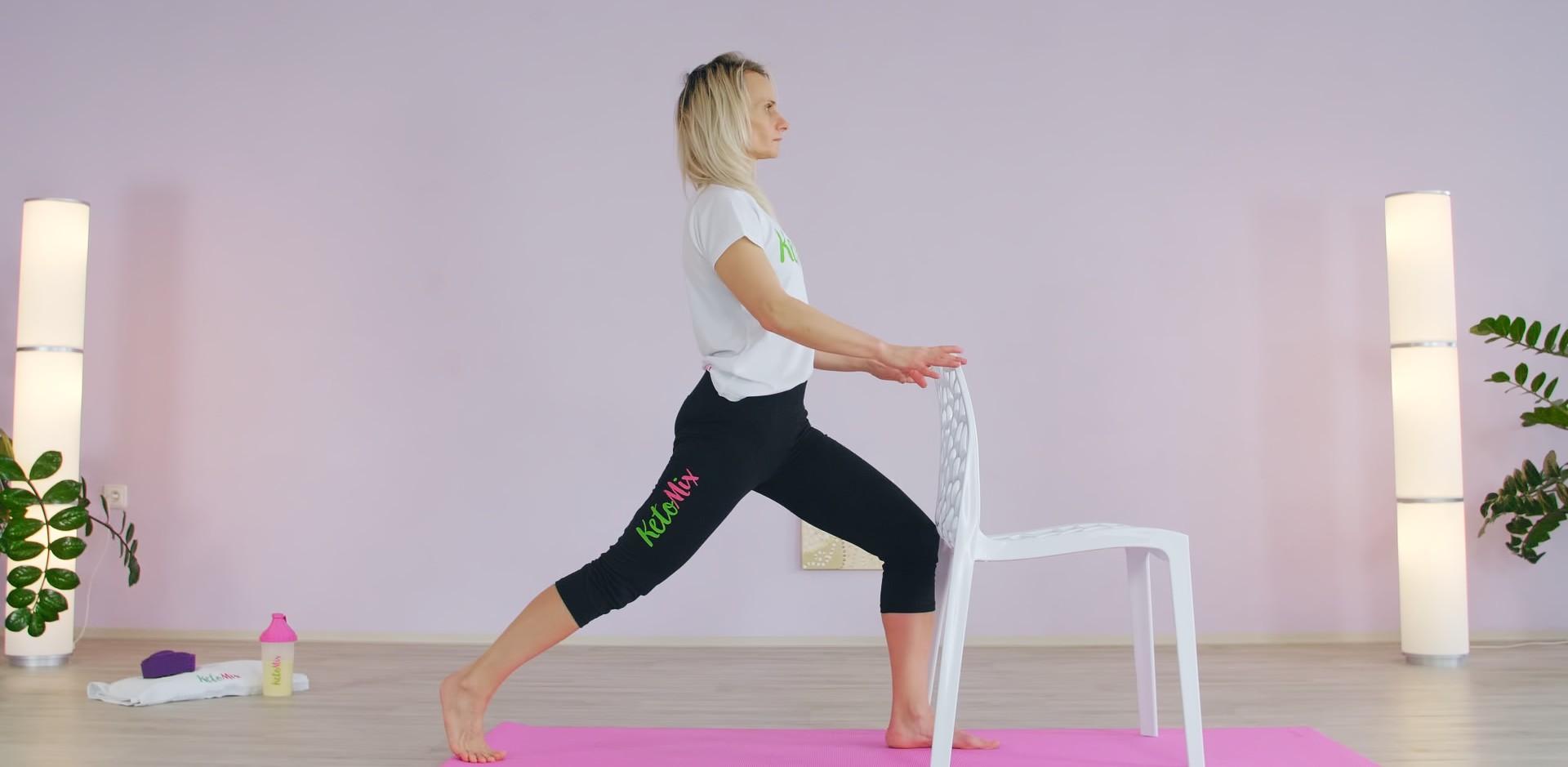 Protáhni se s KetoMix - jednoduchá cvičení na židli