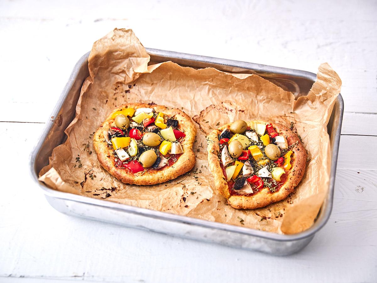 keto proteinová pizza