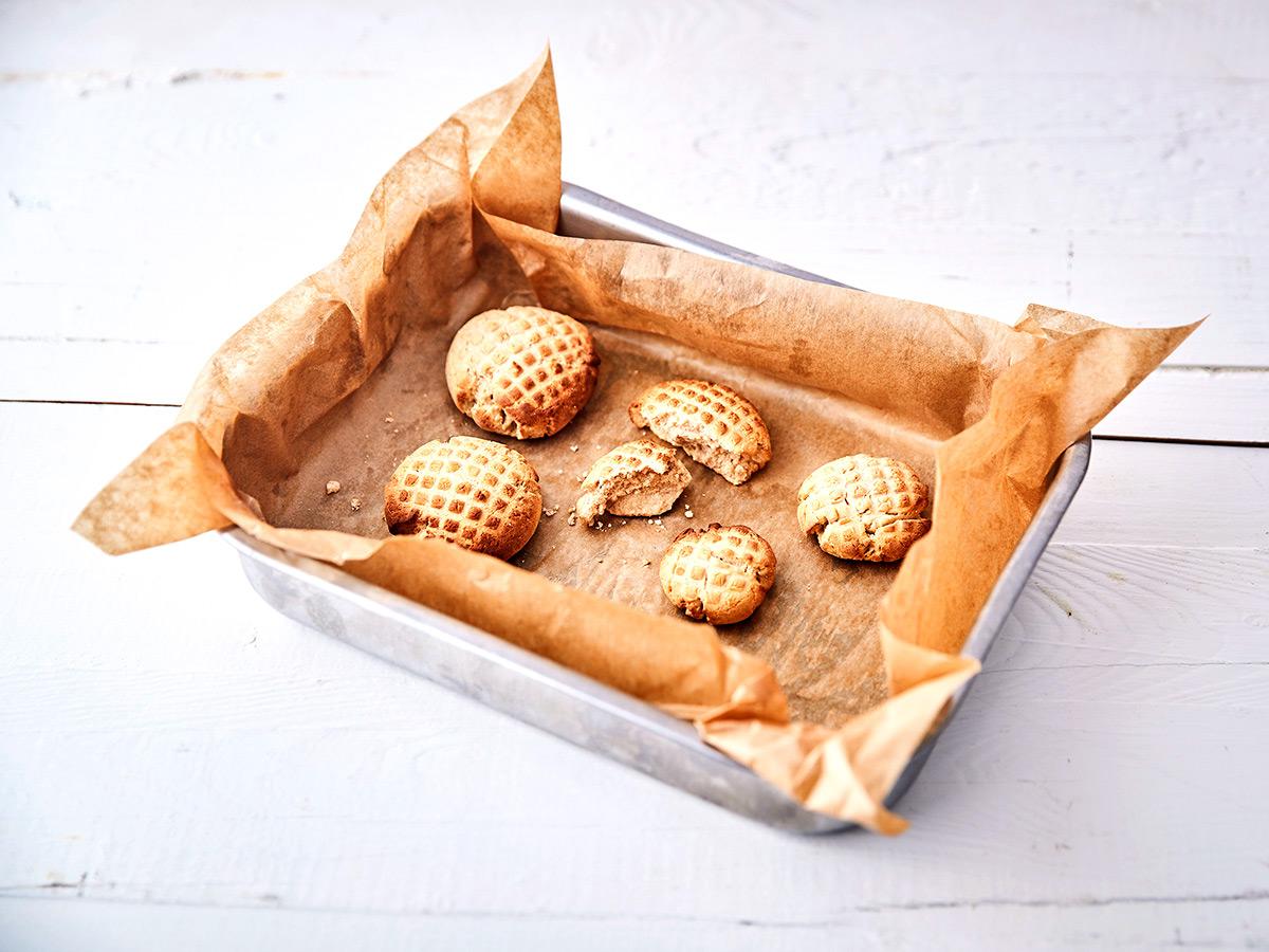 keto skořicové sušenky