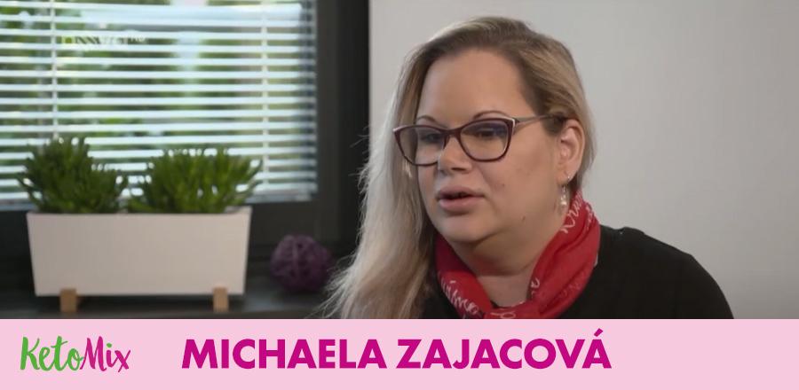 Michaela Z. s KetoMix dietou zhubla snadno a rychle