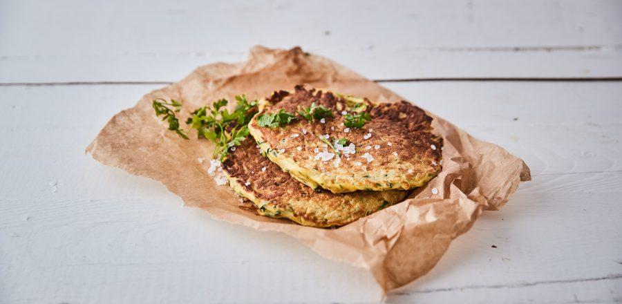 Cuketové placky z KetoMix omelety