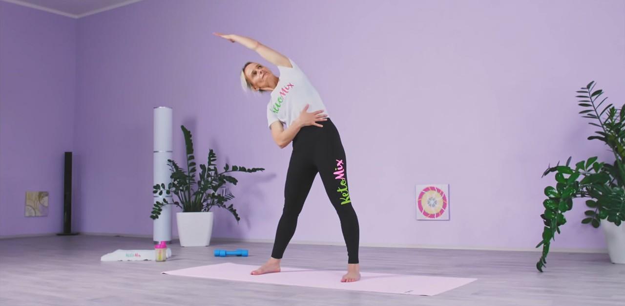 Protáhni se s KetoMix –Jak se před cvičením správně rozehřát?