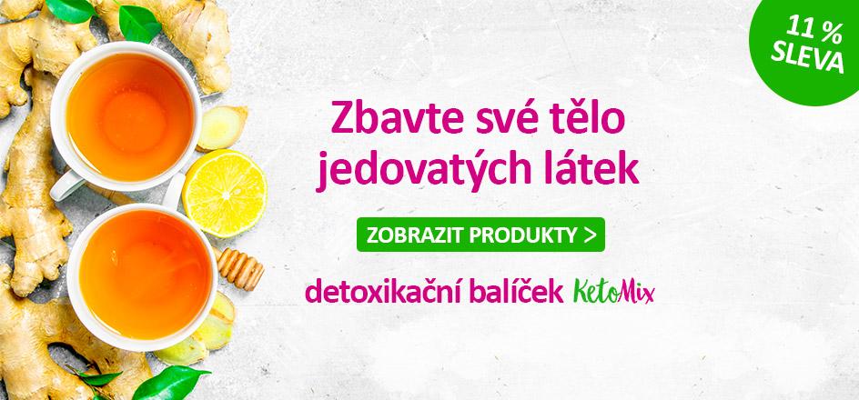 Detoxikační balíček KetoMix