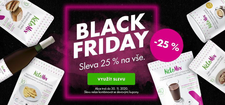 Black friday - 20% sleva na vše - desktop