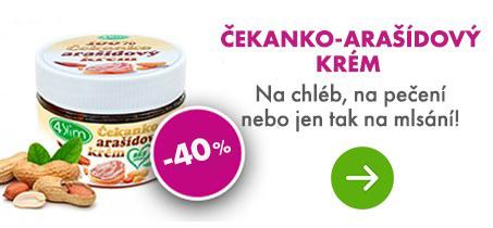 100% Čekanko-arašídový krém 250 g