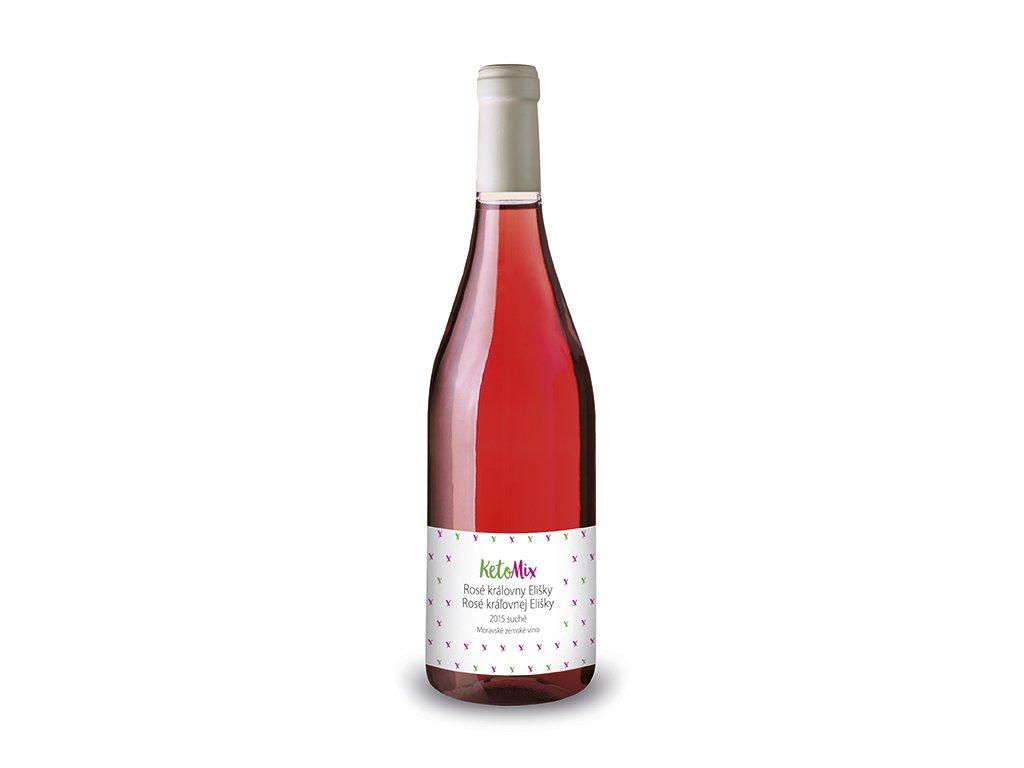 Víno Rosé královny Elišky 2015