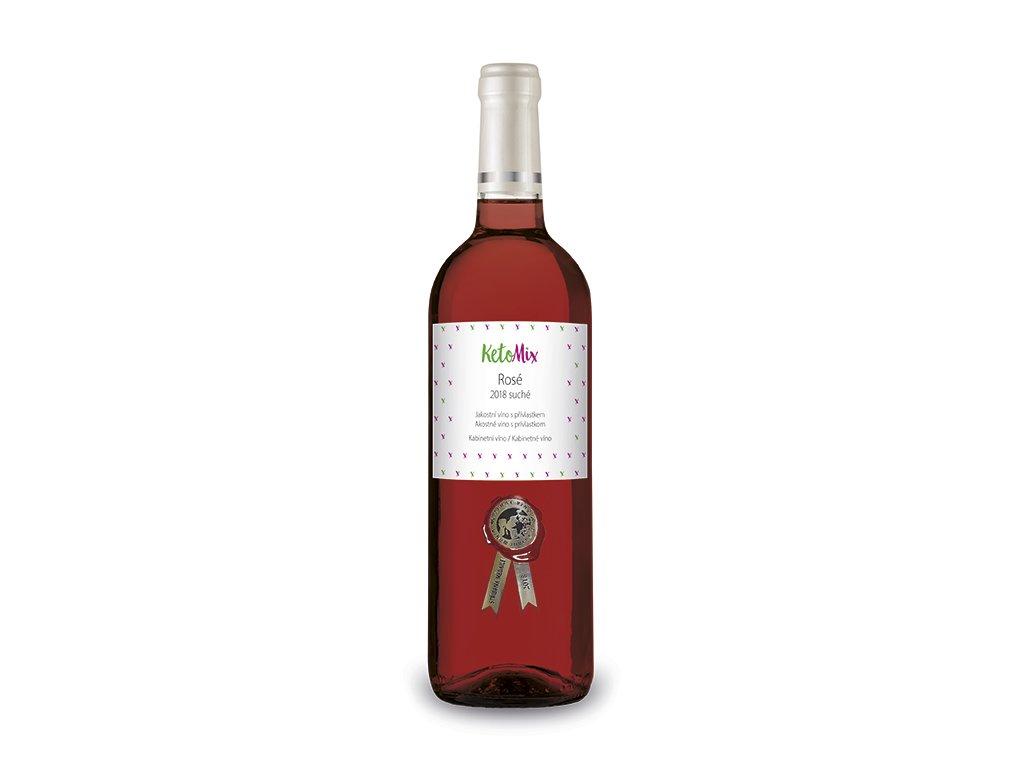 Víno Rosé Kozí Horky 2018