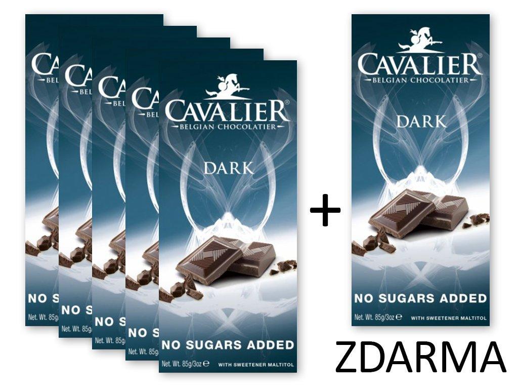 Čokoláda DARK 5+1 ZDARMA