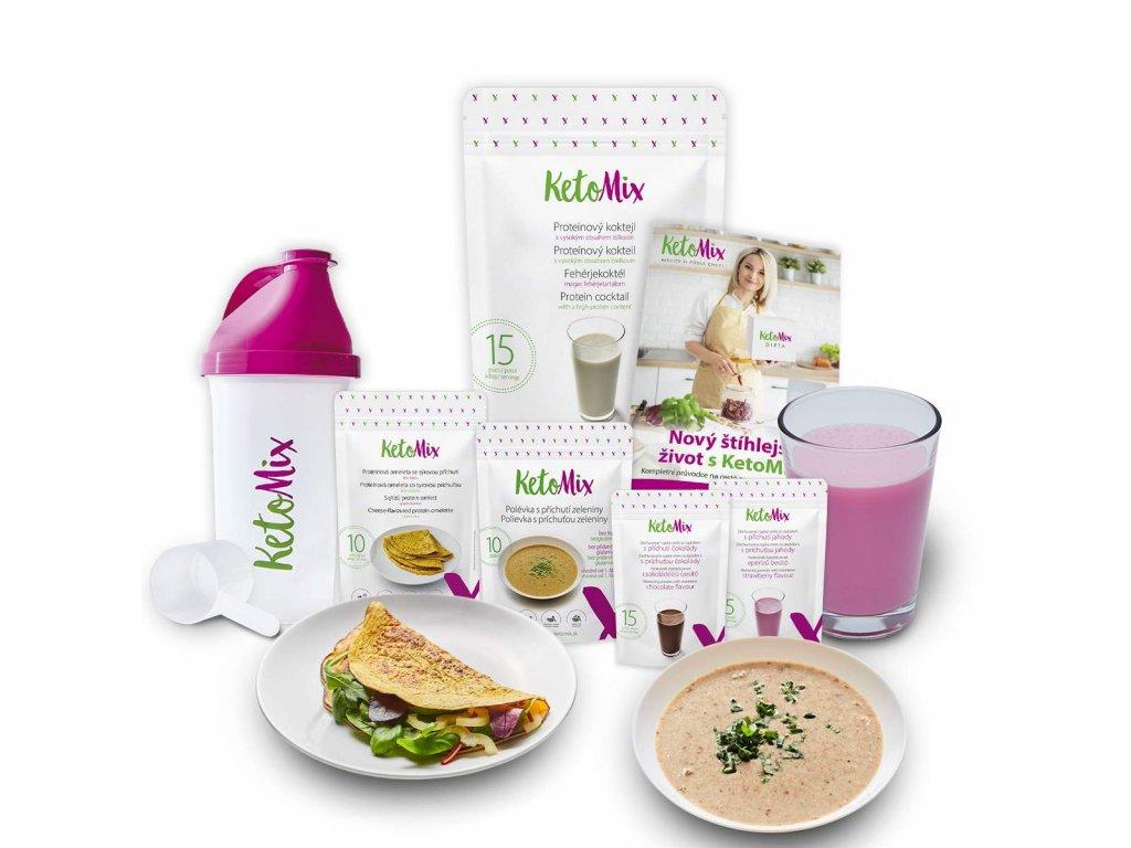 7 dennní keto dieta
