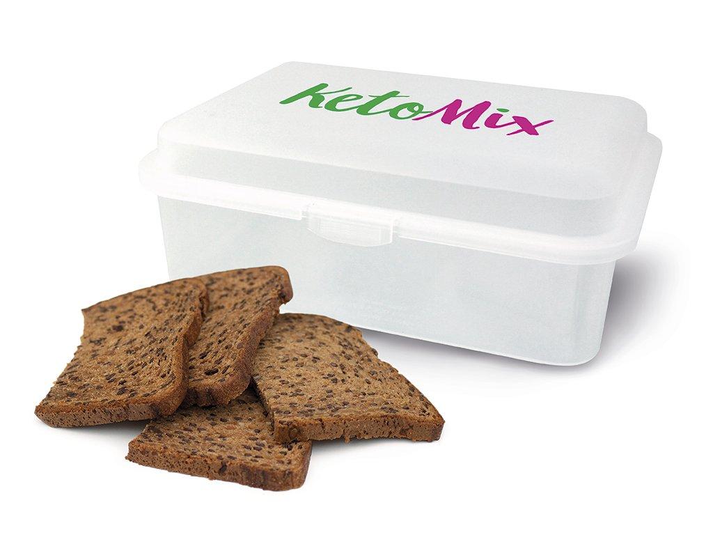 Cereální proteinový chléb + box zdarma