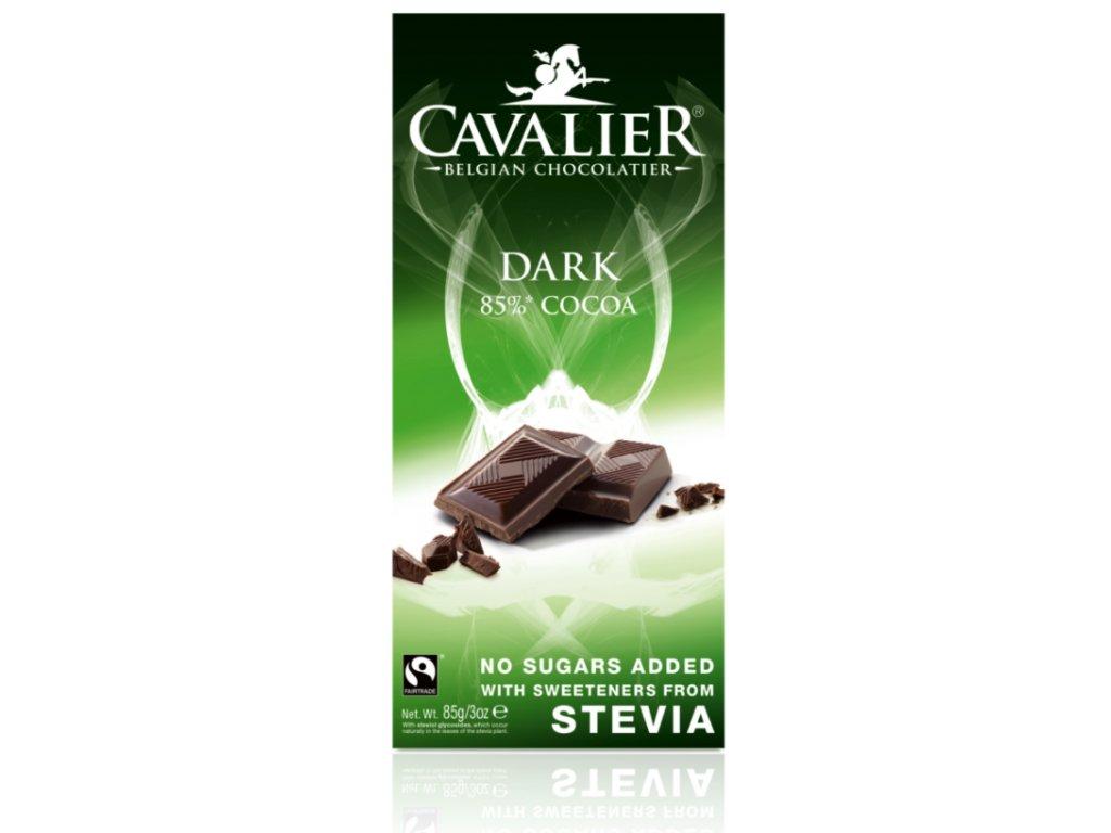 Čokoláda DARK 85% (slazená stévií)