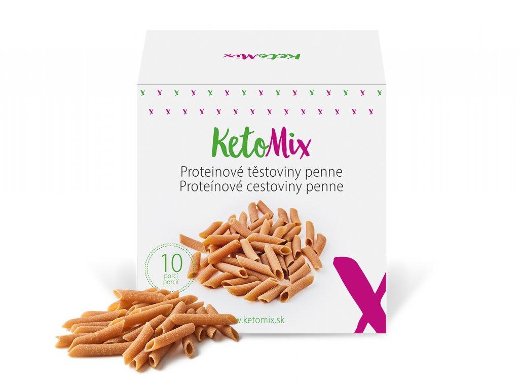 Proteinové těstoviny penne (10 porcí)