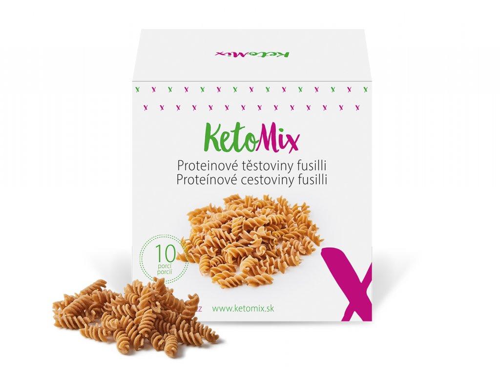 Proteinové těstoviny fusilli (10 porcí)
