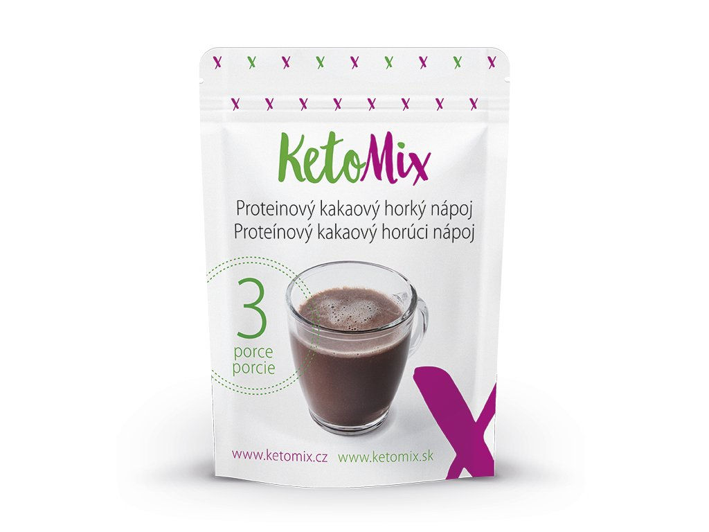 Proteinový kakaový horký nápoj 90 g (3 porce)