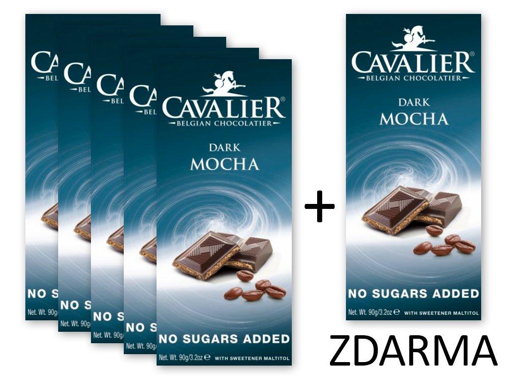 Čokoláda DARK MOCHA 5+1 ZDARMA