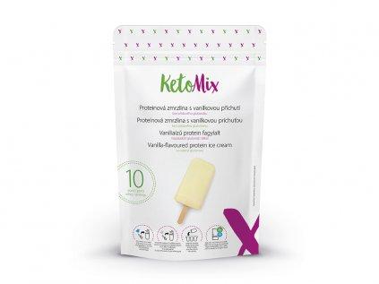 Proteinová zmrzlina s vanilkovou příchutí (10 porcí)