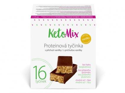 Proteinové tyčinky s příchutí vanilky