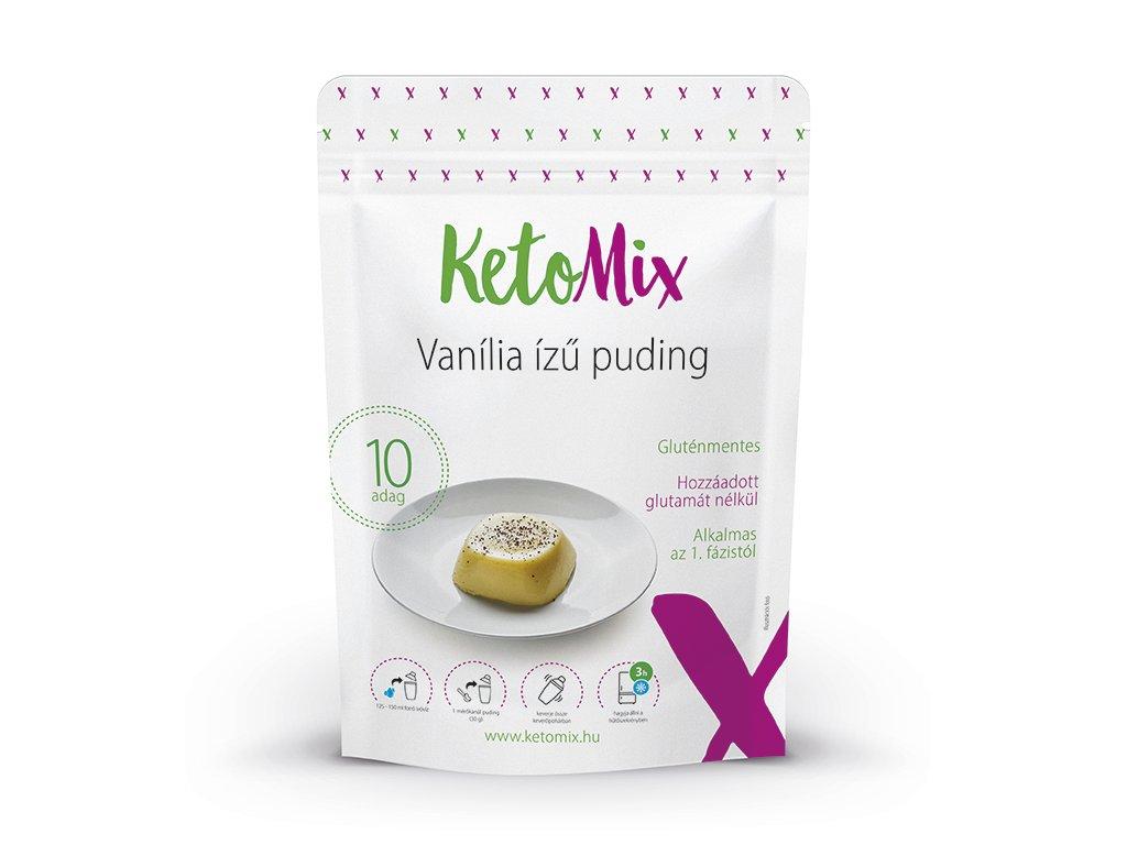 Vanília ízű protein puding