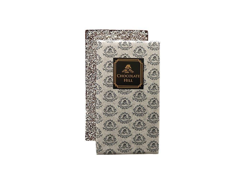 Cukormentes csokoládé KÓKUSSZAL 77 % (eritritollal édesített) 60 g