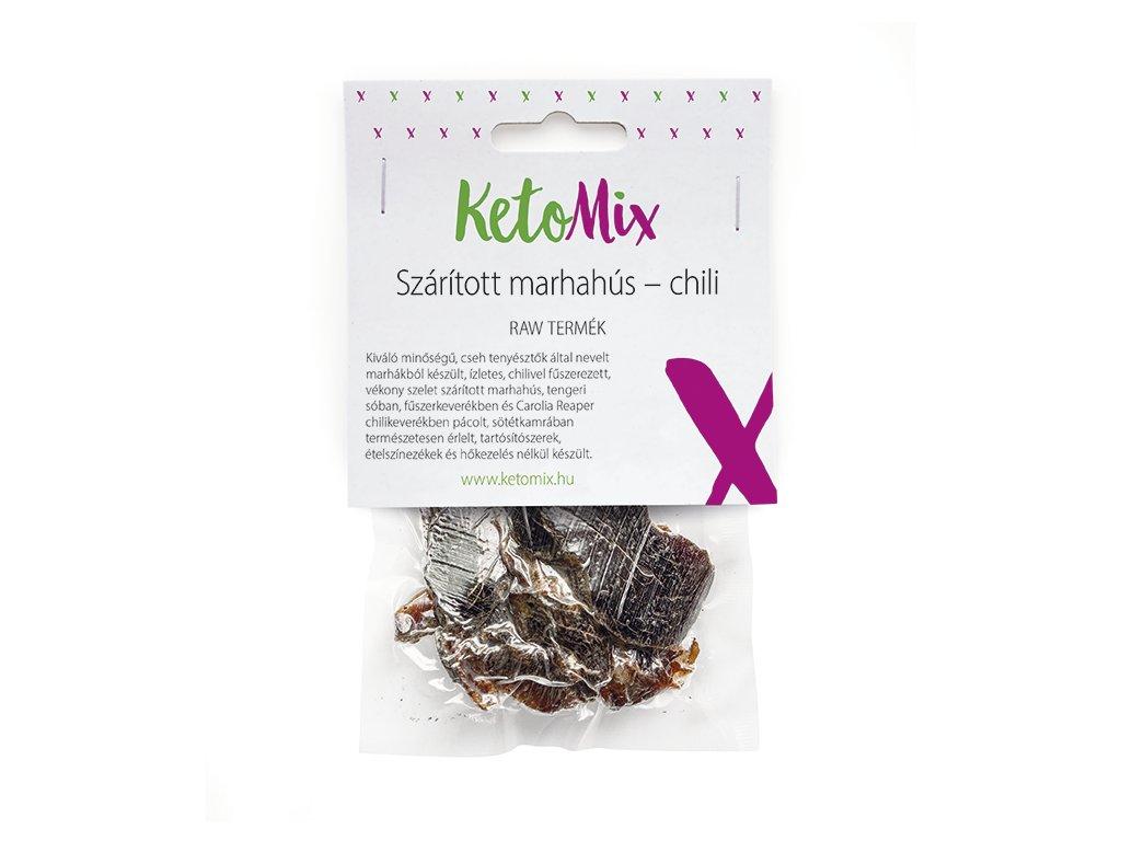 Szárított marhahús – chili (1 adag)
