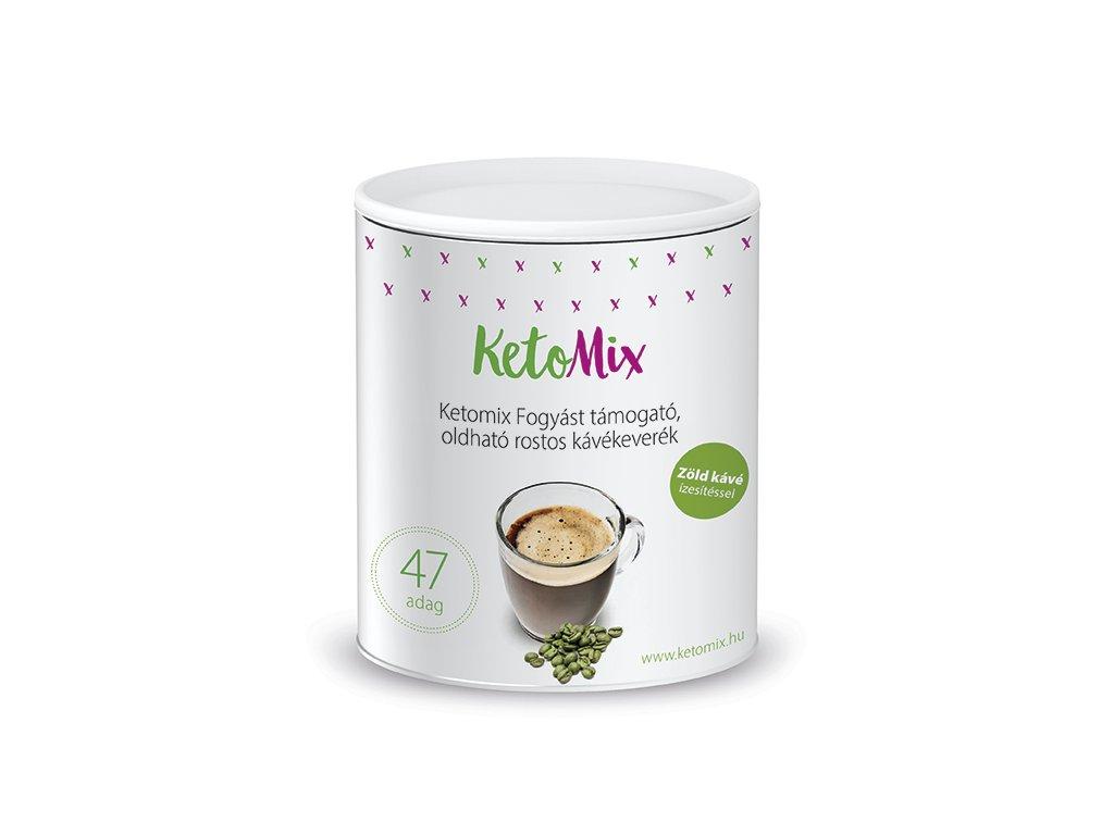Fogyást segítő instant kávé - zöldkávé ízű (47 adag)