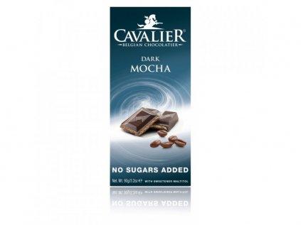 DARK MOCHA csokoládé (maltitollal édesített) 90 g