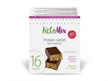 Eper ízű protein szeletek
