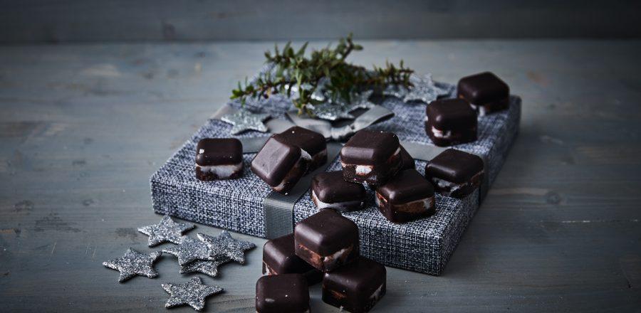 Čokoládovo-kokosové štvorčeky