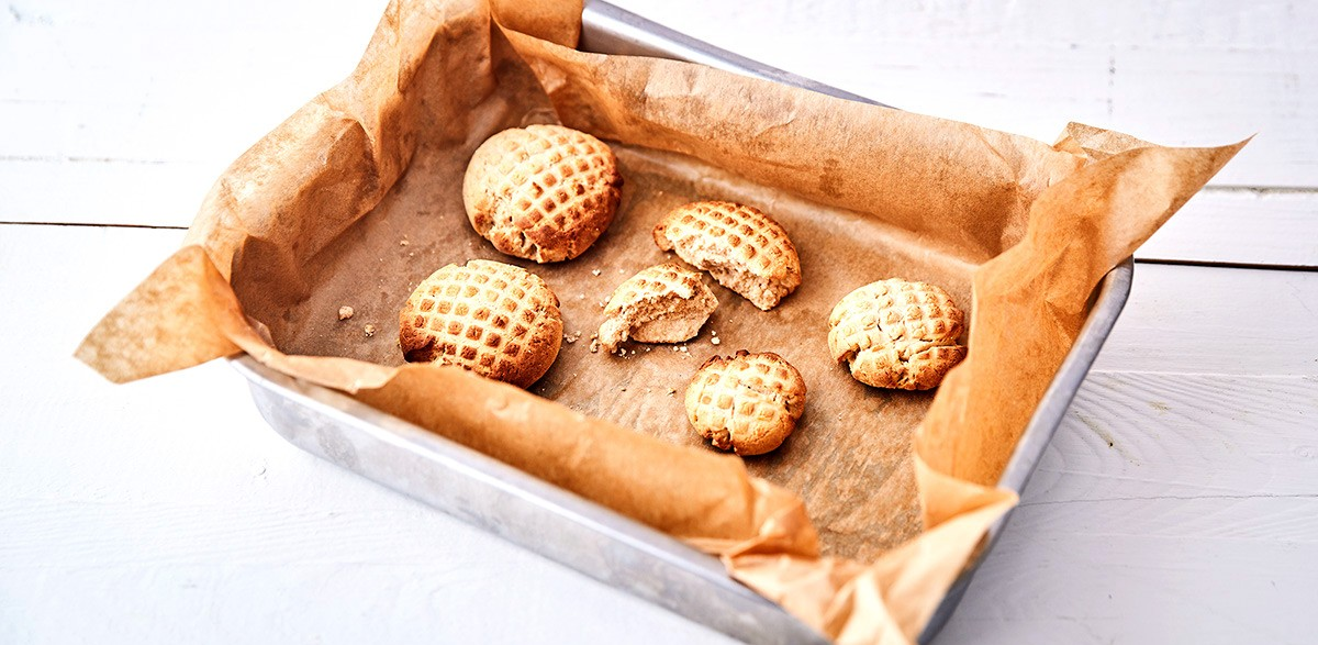 Keto škoricové sušienky