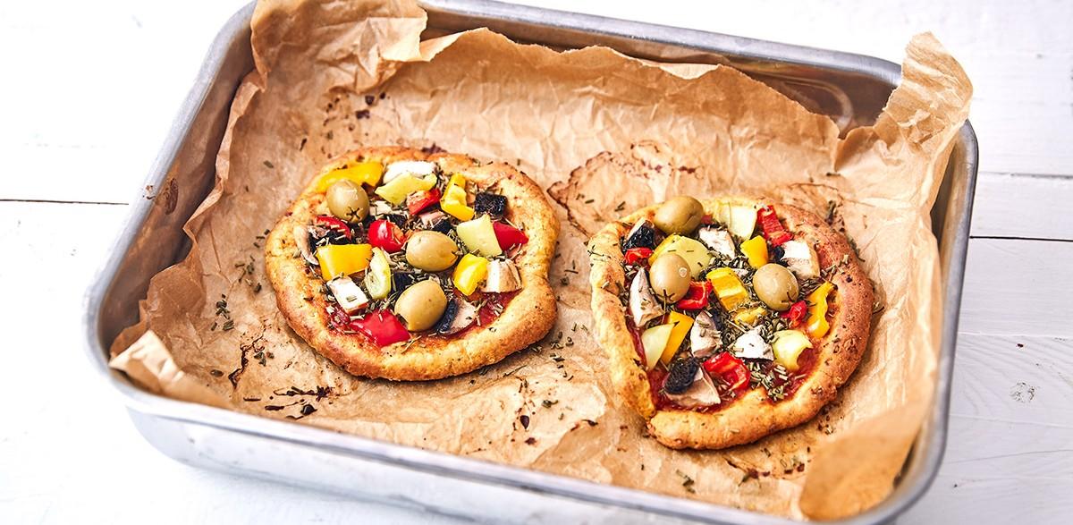 Keto proteínová pizza