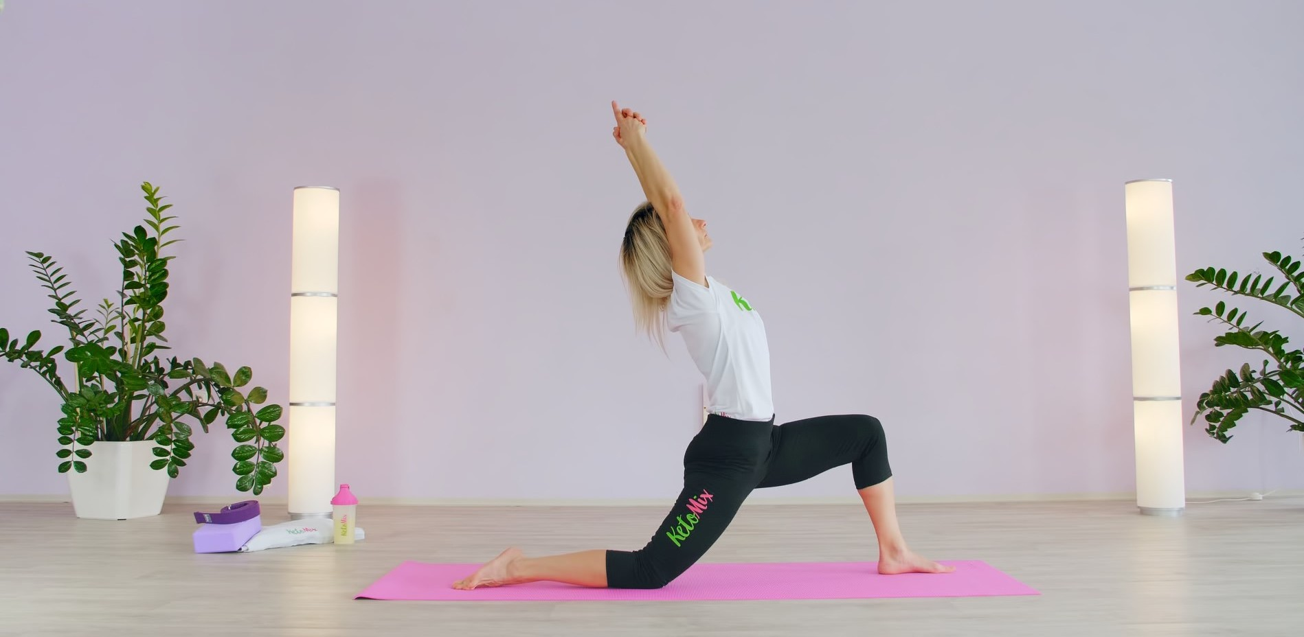 On-line lekcia jogy – pozície na každý deň