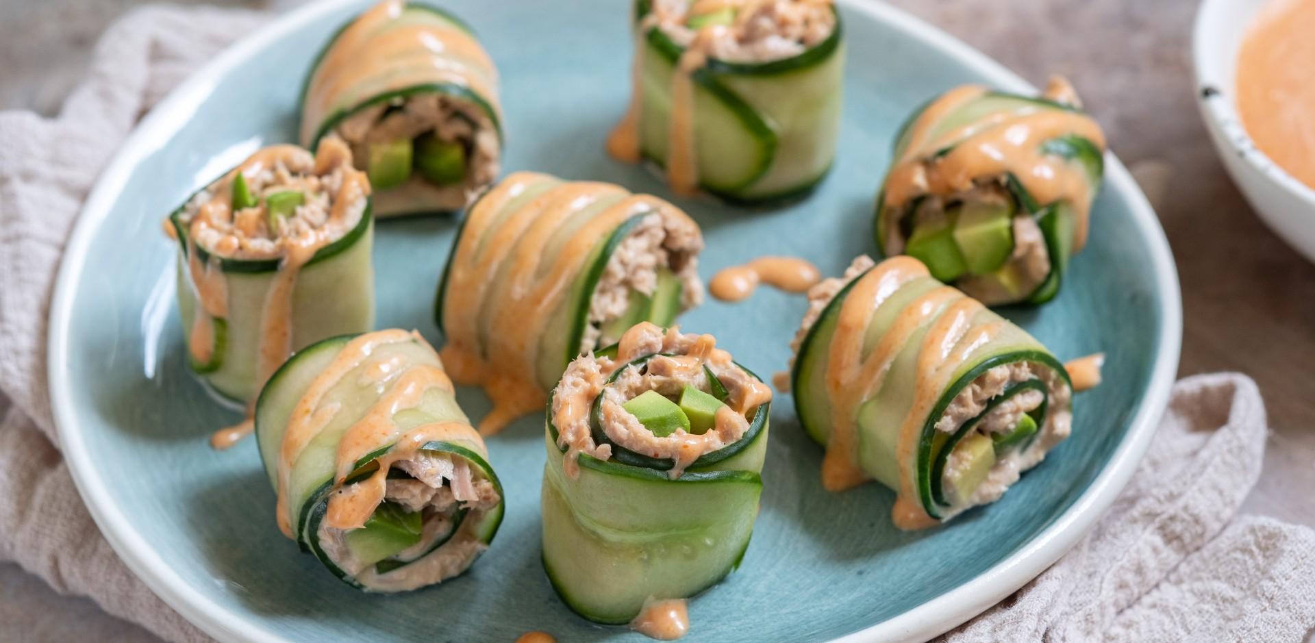 "Tuniakové ""sushi"""