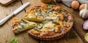 Pórový koláč z KetoMix omelety
