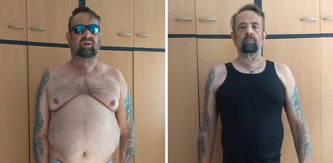 """""""KetoMix mi pomohol s váhou aj so zdravotnými problémami z mladosti,""""  hovorí Vladimír"""