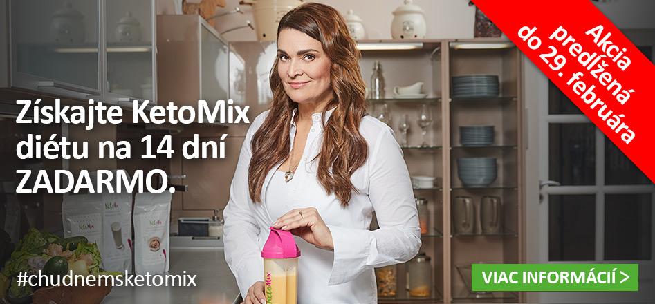 Získajte KetoMix diétu na 14 dní ZADARMO