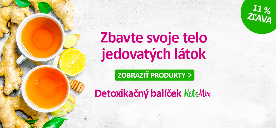 Detoxikačný balíček KetoMix