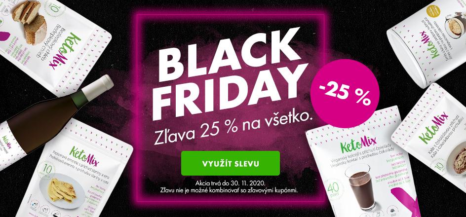 Black friday - 20% zľava na všetko - desktop
