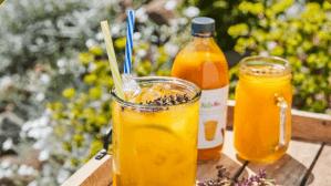 Pomerančový letní drink