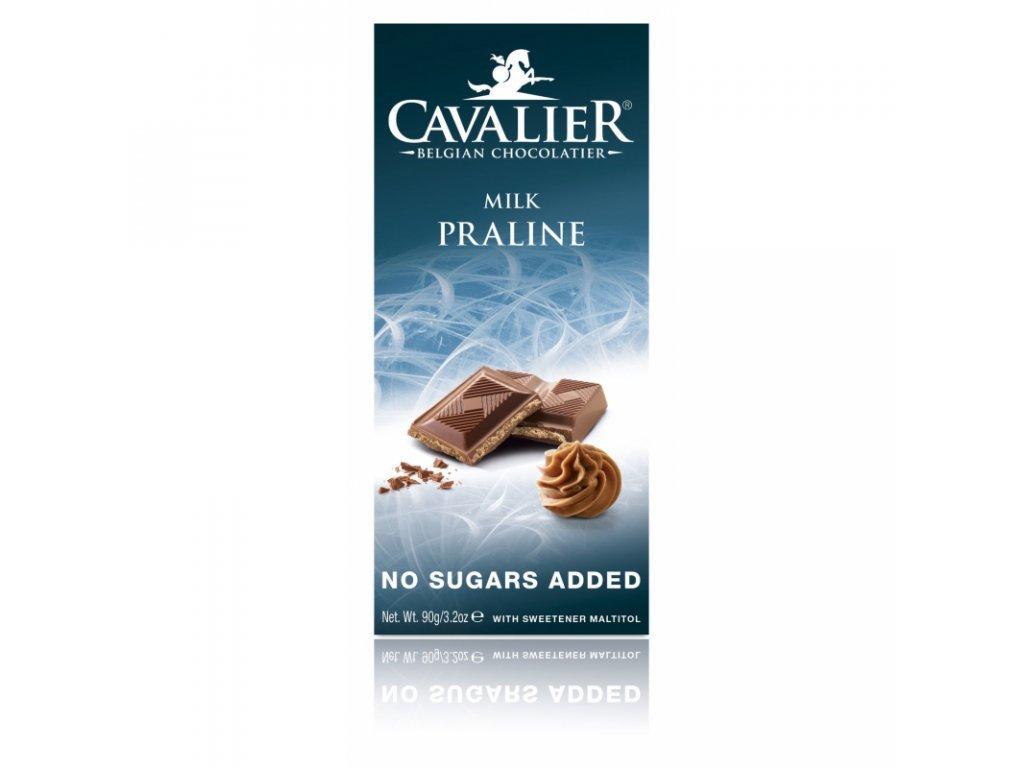 151 cokolada milk praline sladena maltitolom 90 g