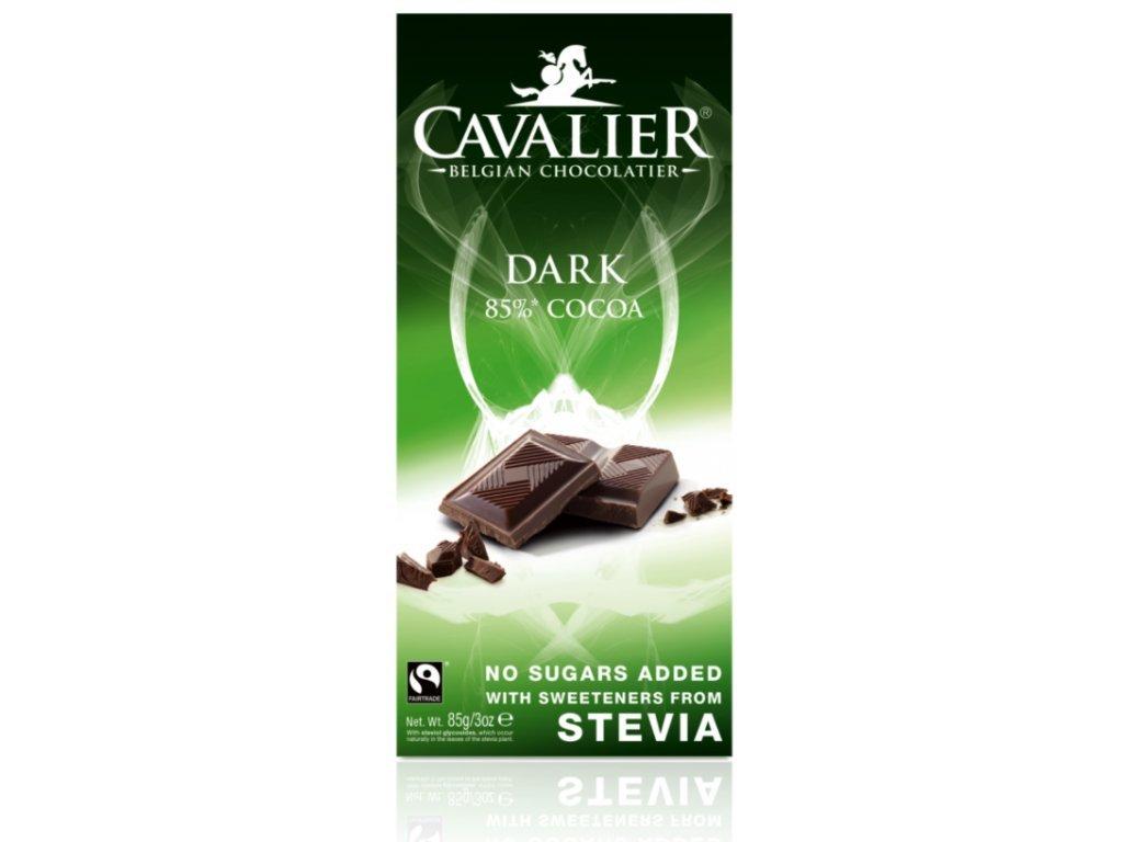 169 cokolada dark 85 sladena steviou 85 g