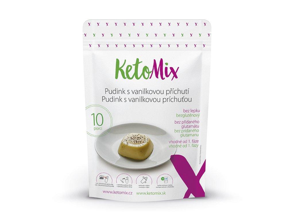 Proteínový puding s vanilkovou príchuťou 300 g (10 porcií)
