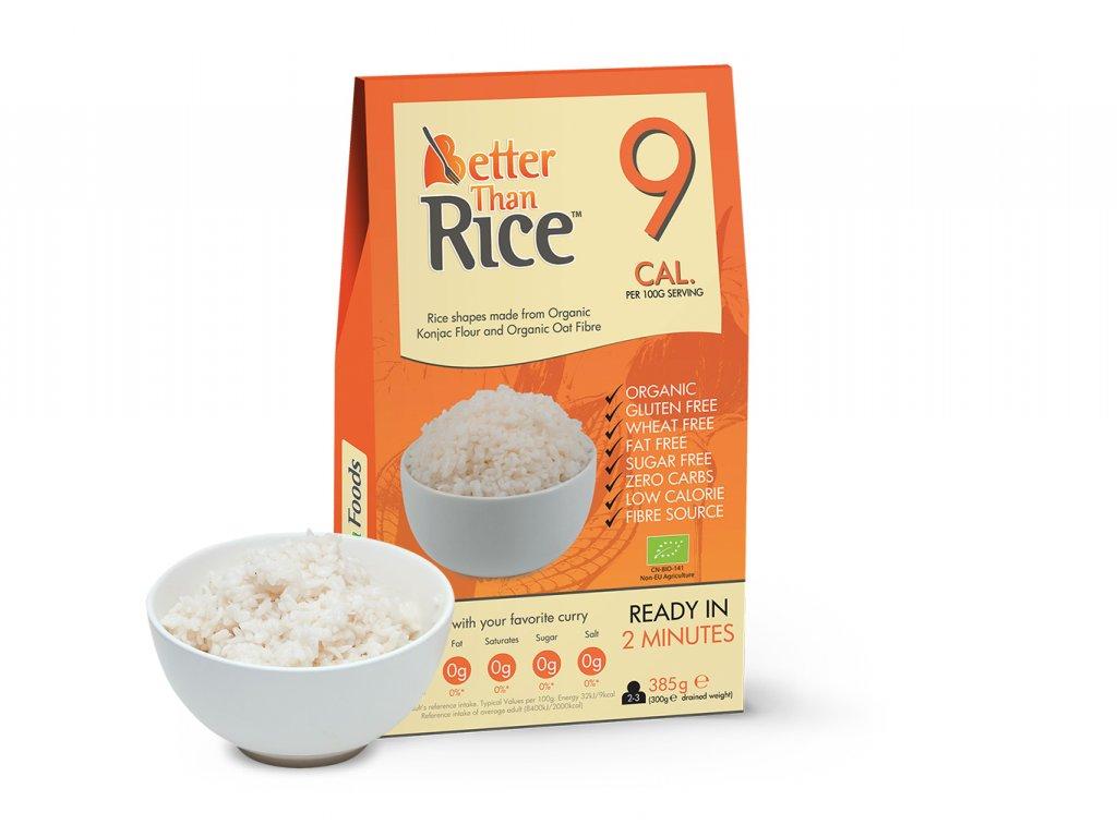 Konjacová bezsacharidová ryža
