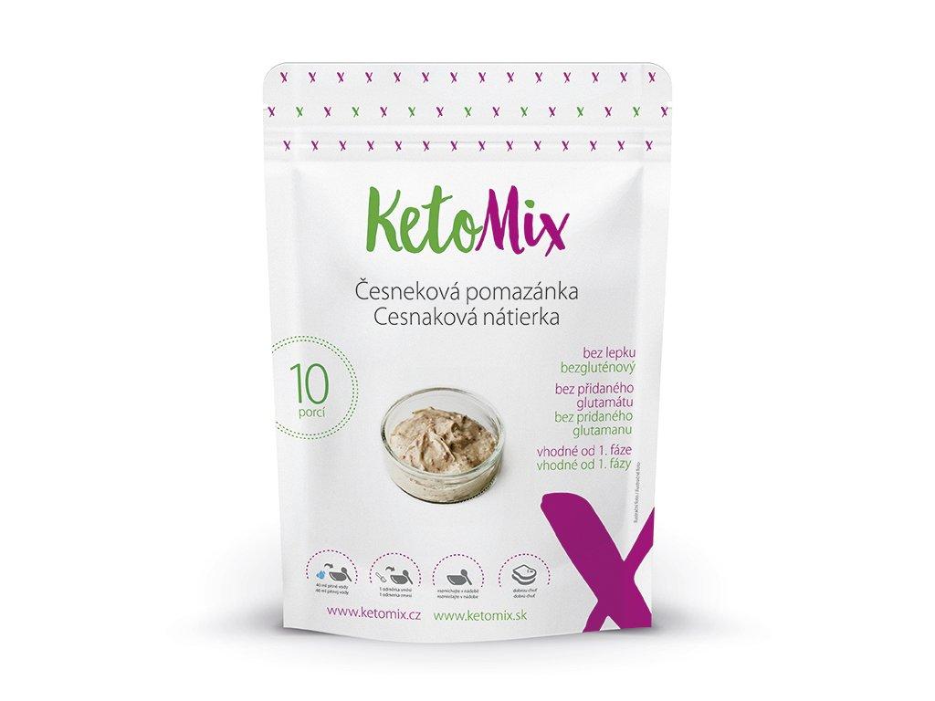 Proteínová cesnaková nátierka KetoMix (10 porcií)