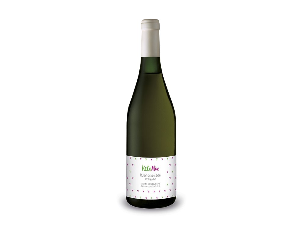Akostné odrodové víno Rulandské šedé 2018
