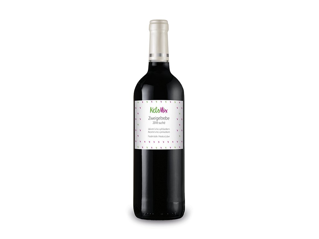 Víno Zweigeltrebe 2018