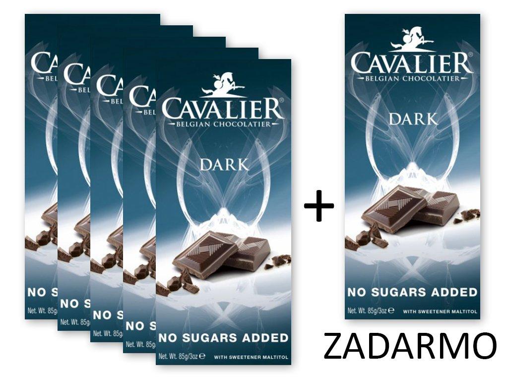 Čokoláda DARK 5+1 ZADARMO