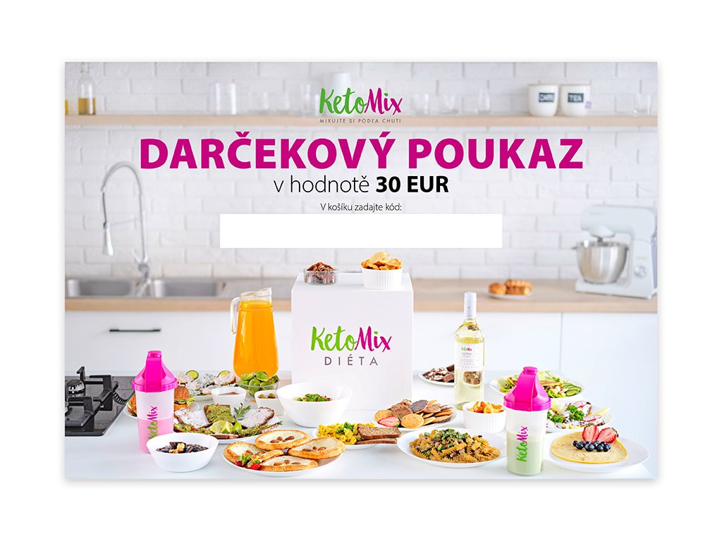 Darčekový poukaz 30 EUR