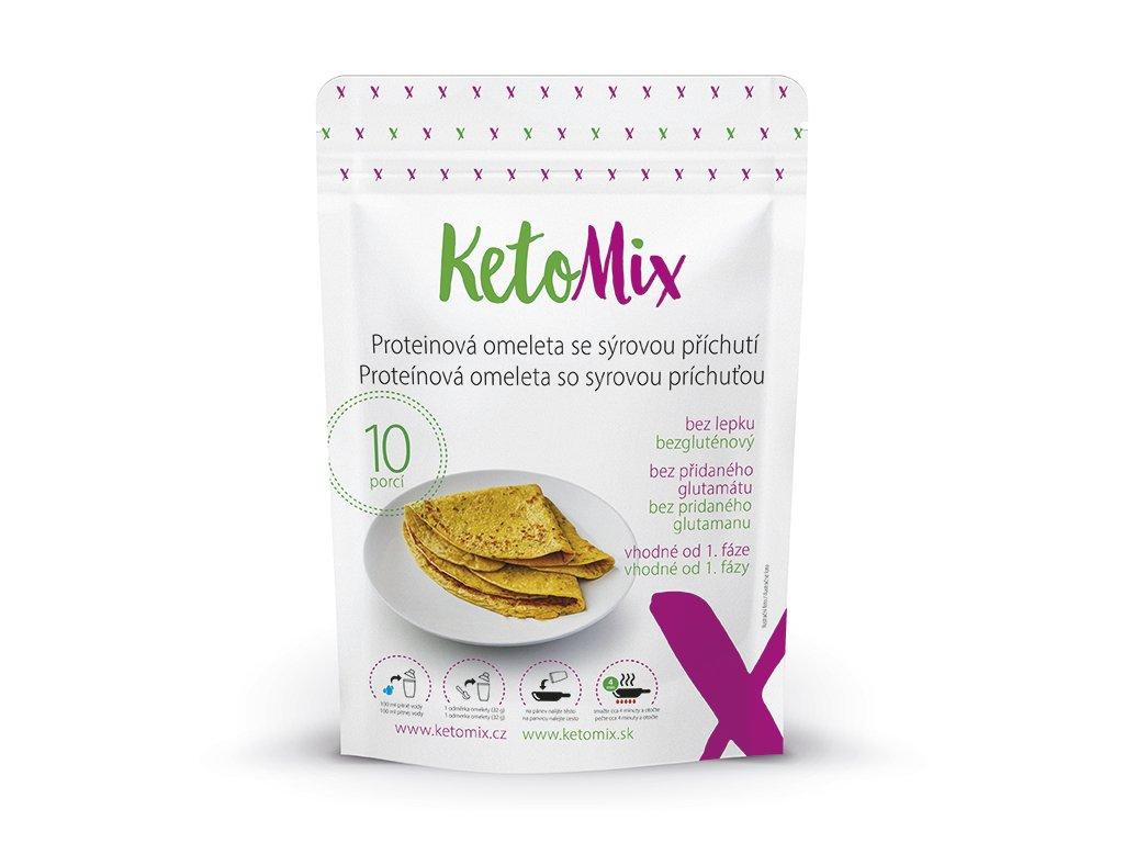Proteínová omeleta KetoMix (10 porcií) - so syrovou príchuťou