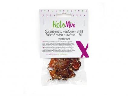 Sušené mäso bravčové – chilli (1 porcia)