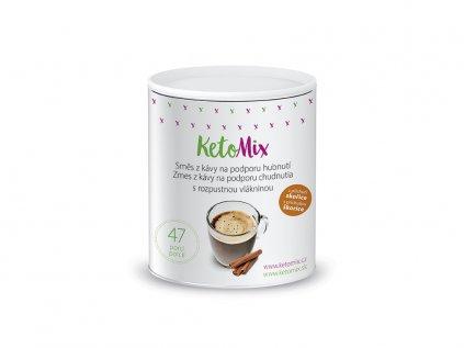 Instantná káva na podporu chudnutia s príchuťou škorice